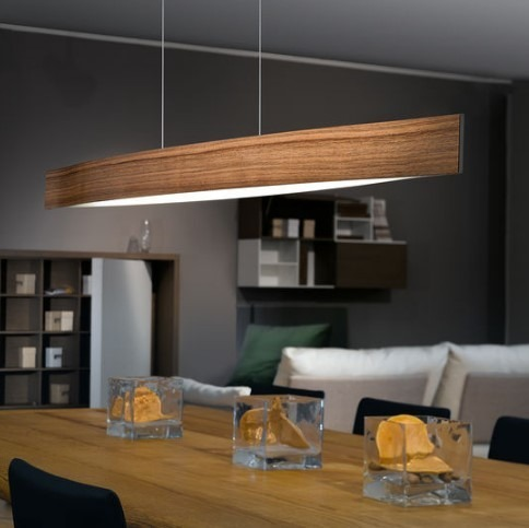 lampa wisz ca nad st led fornes orzech eglo 93343 sklep z o wietleniem. Black Bedroom Furniture Sets. Home Design Ideas
