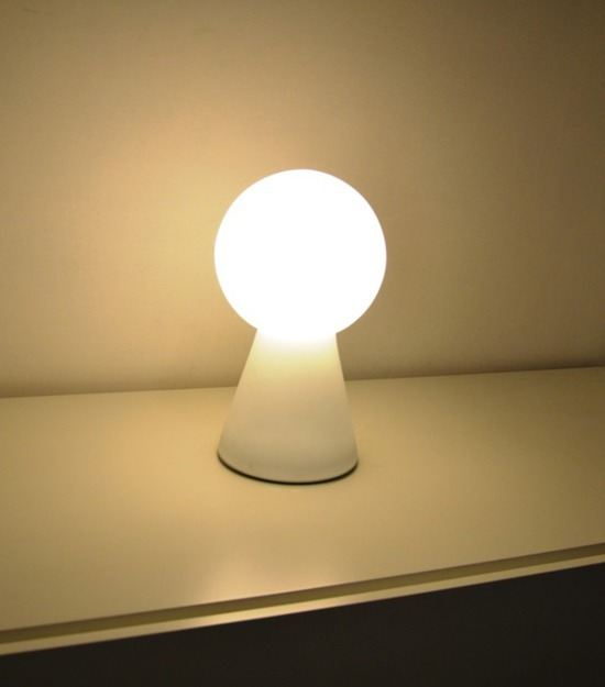 LAMPA STOŁOWA, NOCNA BIRILLO TL1 MEDIUM WHITE 000251 IDEAL LUX