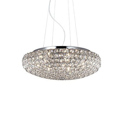 LAMPA WISZĄCA KING SP7 CROMO 87979 IDEAL LUX