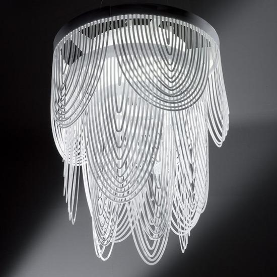 Lampa wiszaca Ceremony 55 biała Slamp