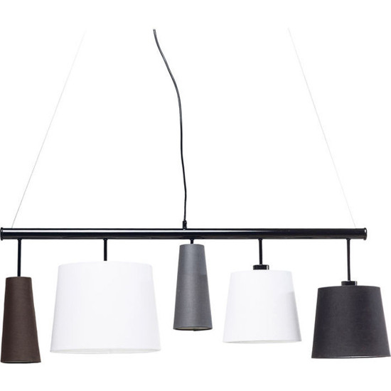 Pendant Lamp Parecchi Black 100 Kare Design 42210