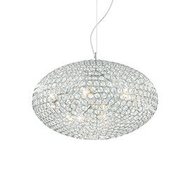 LAMPA WISZĄCA ORION SP8 CROMO 66387 IDEAL LUX