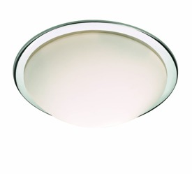 PLAFON RING PL3 CROMO 045733 IDEAL LUX