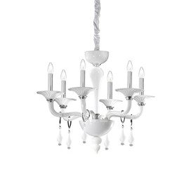 ŻYRANDOL MIRAMARE SP6 068183 IDEAL LUX